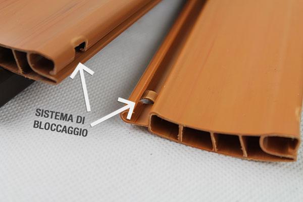 Tapparella avvolgibile economica in plastica PVC robusta