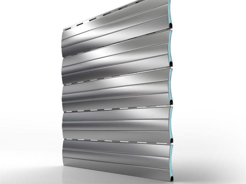 Tapparella avvolgibile MINI in alluminio coibentato ad alta densità