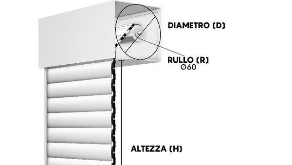 New Solar tapparella avvolgibile frangisole in alluminio estruso