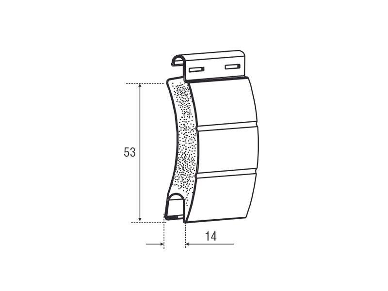 Tapparella avvolgibile in alluminio coibentate con isolamento termo-acustico