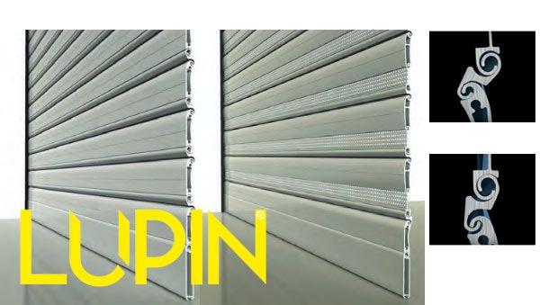 Tapparella avvolgibile in alluminio auto-bloccante di sicurezza Lupin