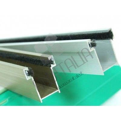 Guida per tapparelle in alluminio 17x28