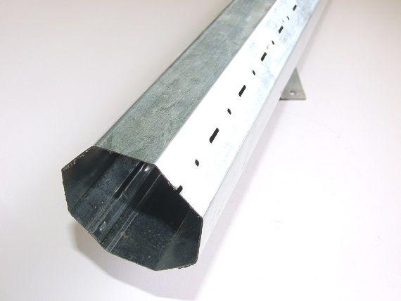 Rullo ottagonale per tapparella tipo liscio diametro mm.60 spessore 8/10