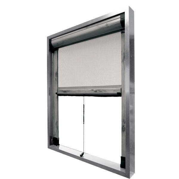 zanzariera modello rica a scorrimento verticale cambio On finestra scorrevole verticale